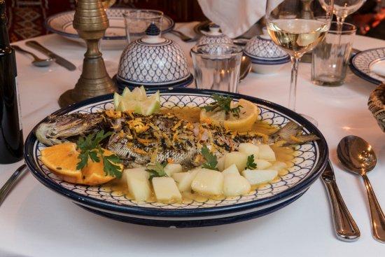 Les d ners sous r servation foto di restaurant les for Les jardins de villa maroc essaouira