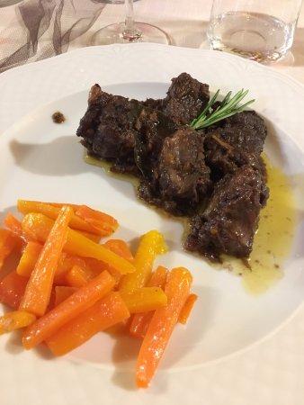 Roccaverano, Italia: bocconcini di vitello