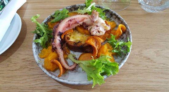 Ilford, UK: Octopus and sweet potato ...