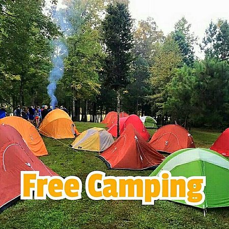 Cleveland, TN: Free Camping for anyone rafting!
