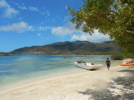 Cades Bay, Antigua: private beach