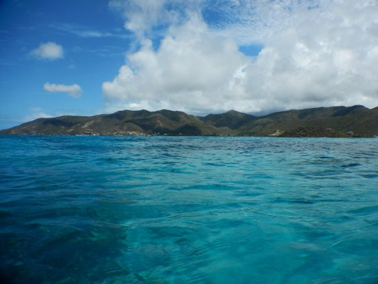 Cades Bay, Antigua: view from cades reef