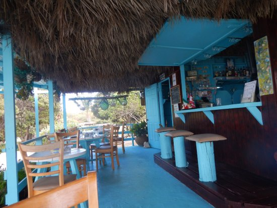 Long Bay, Antigua: restaurant/bar