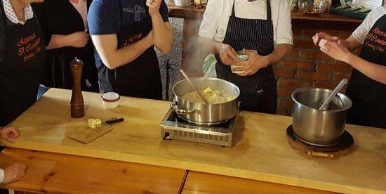 Ristorante Il Caminetto Cookery Lessons: class