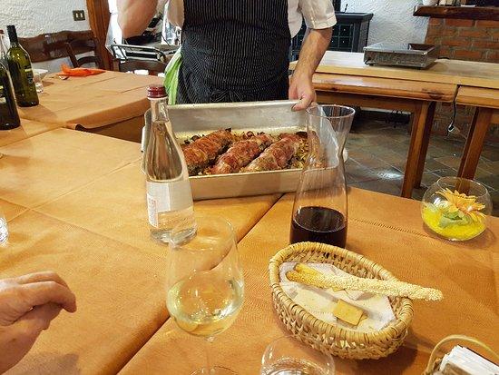 Ristorante Il Caminetto Cookery Lessons: Veal
