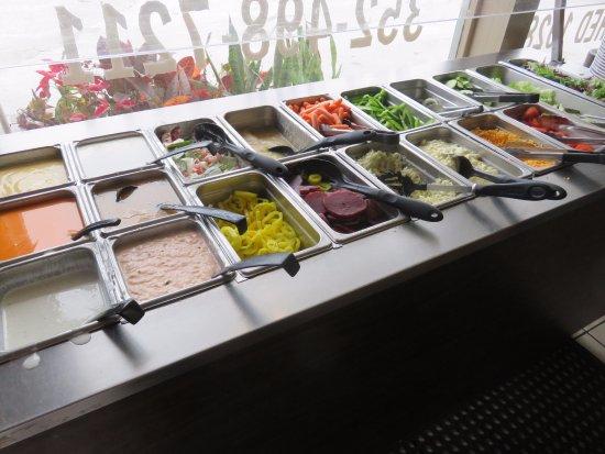 Cross City, FL: Salad Bar