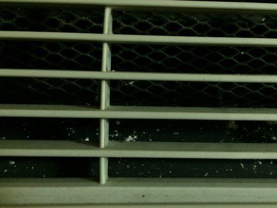 Brooklyn, OH: Unsanitary air/heat unit.