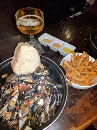 The Trappe door Mussels! & Mussels! - Picture of The Trappe door Greenville - TripAdvisor