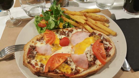 Questembert, Frankrijk: Restaurant Tostada