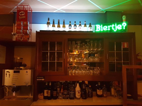 Moeke Mooren: Bar In The Basement Next To The Bowling Alley!