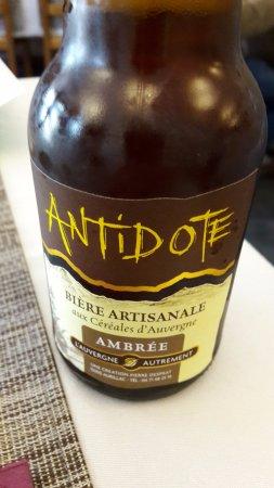L'Antidote, une bière artisanale du coin