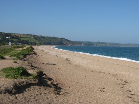 Slapton Sands looking towards Strete Gate