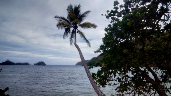 Speyside, Tobago: Belmont Beach, the next bay from Blue Waters inn