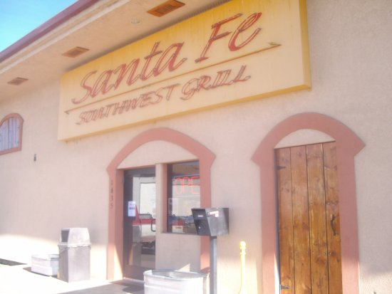 Rock Springs, WY: Front/side entrance, Santa Fe Southwest Grill