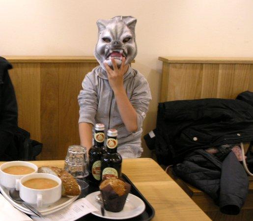 Kincraig, UK: Zuppe e dolci