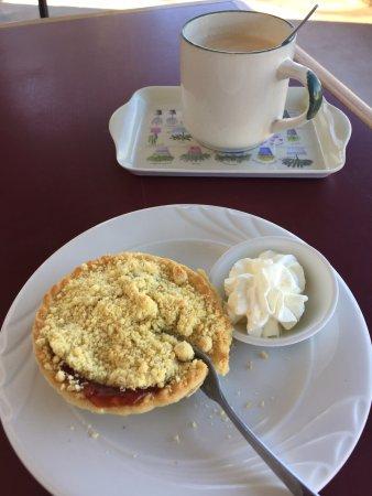 Leigh Creek, Australia: Quandong pie