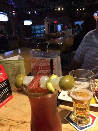 Ralph's Texas Bar & SteakHouse: Wednesday Night 'Special' Ceasar