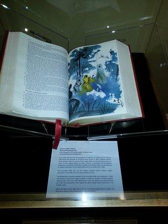 Monroe, LA: Bible with illustrations by Salvador Dali.