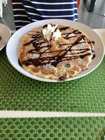 Palmer, Puerto Rico: chocolate chip pancakes
