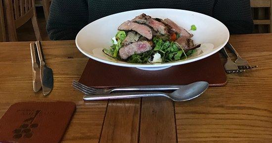 Blackrod, UK: Steak salad