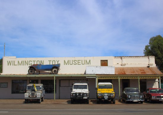 Wilmington, Australia: toy museum across the road