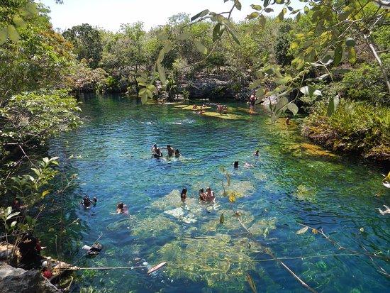 Yucatan, Mexico: Con las vistas es más que suficiente para que quieran estar aquí!