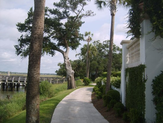 Sea Island, GA: river walk