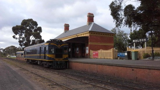 Maldon, Australien: Station with visiting RM58