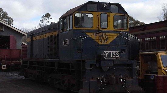 Maldon, Australien: Shunter loco Y133