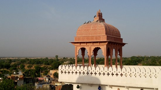 Malpura, Indien: View from the Roof