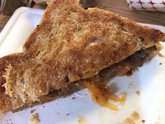 Clare, Μίσιγκαν: Breakfast sandwich