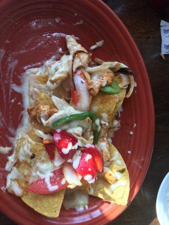 Lakeville, MN: Chicken fajita nachos