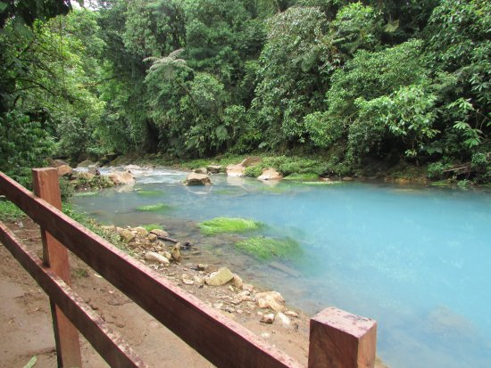 Tenorio Volcano National Park, Costa Rica: Blue river