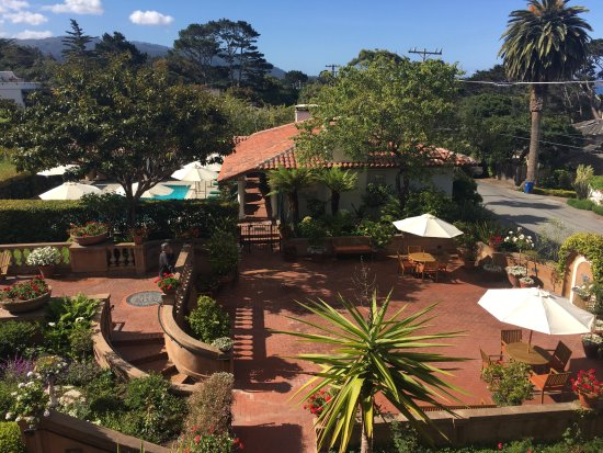 La Playa Carmel: View from our room