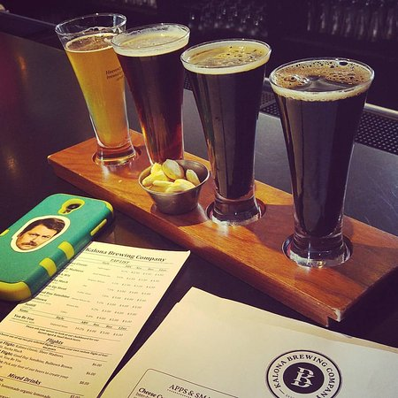 Kalona, IA: Beer Flight