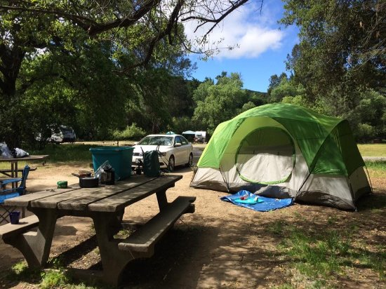 Pinnacles Campground Inc: View of site 10