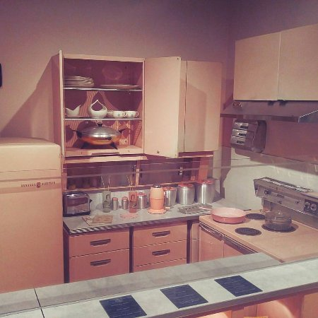 Missouri History Museum 1950 S Pink Kitchen