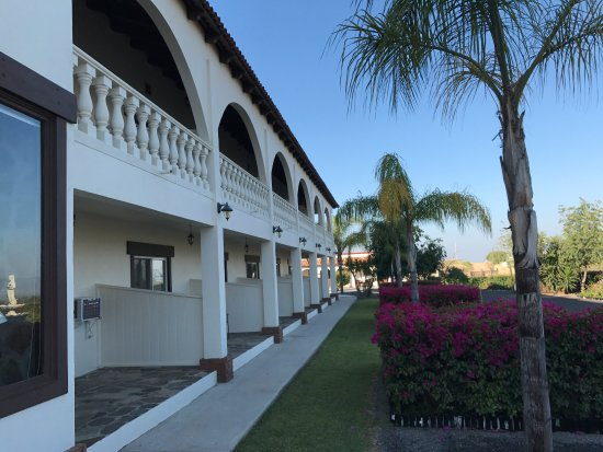 Hacienda Guadalupe Hotel: Rooms with views -- from terrace or balcony.