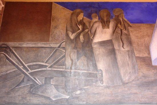 Scuola nazionale preparatoria citt del messico picture for Mural prepa 1 uaemex
