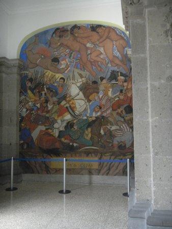 Jose clemente orozco 39 s mural series in the escuela for Mural prepa 1 uaemex