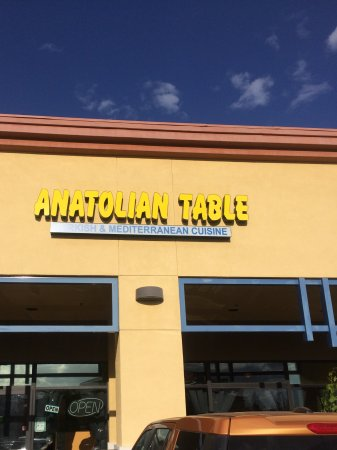 Rocklin, Californië: Anatolian Table