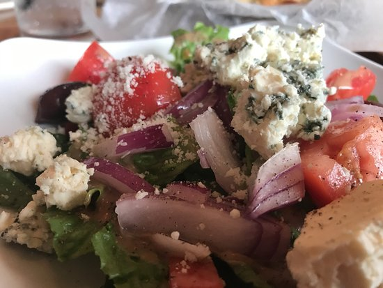 From The Boot: house salad