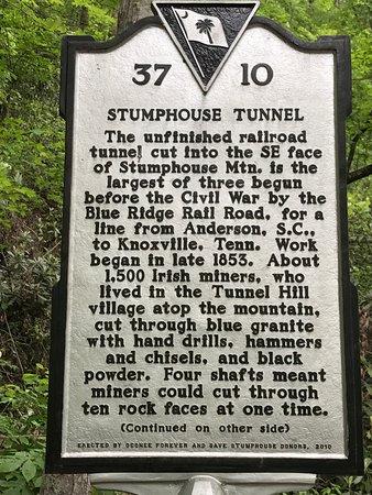 Walhalla, Carolina del Sur: Stumphouse Tunnel