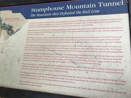 Walhalla, SC: Stumphouse Tunnel