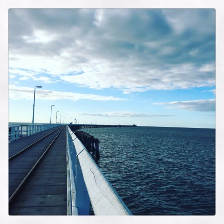 Busselton, Austrália: The beginning of the jetty