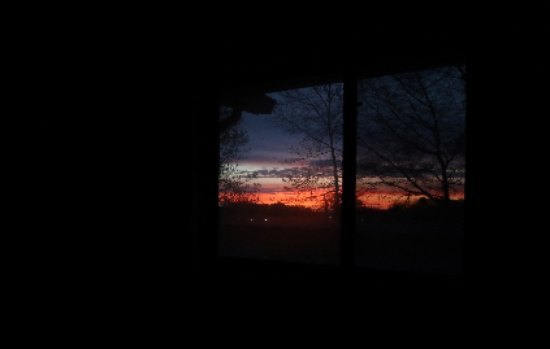 Super 8 Queensbury Glens Falls : Sunrise from my room (224)