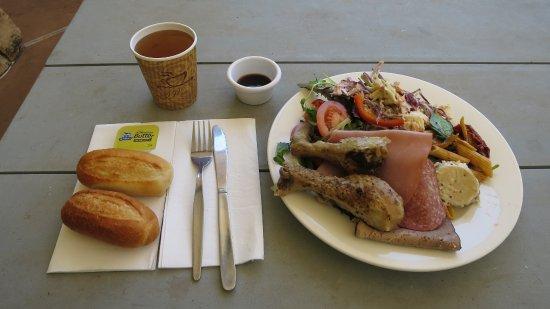 Barra Bar & Bistro: 私の食べたランチバイキング