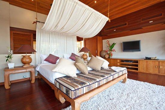 Lipa Noi, Thailand: Master Bedroom