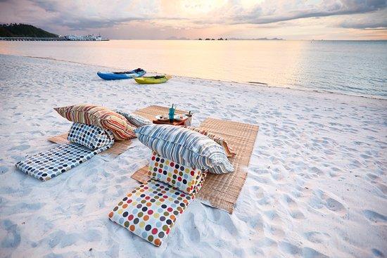 Lipa Noi, Thailand: Beach Lounge