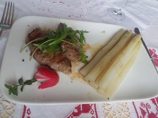 La Trattoria del Postillione: Ein köstliches Menü.